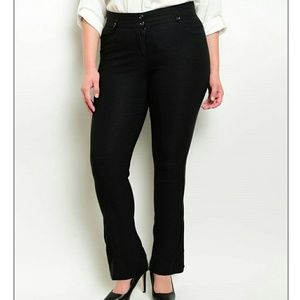 Pants - PLUS black slacks