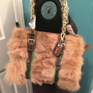Longchamp Handbags - MAKE OFFER!!  Longchamp $2K fox fur handbag