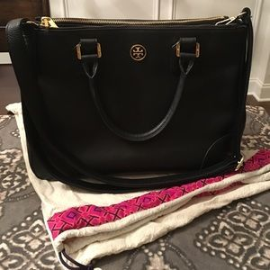 Large Tory Burch Double Zip Robinson