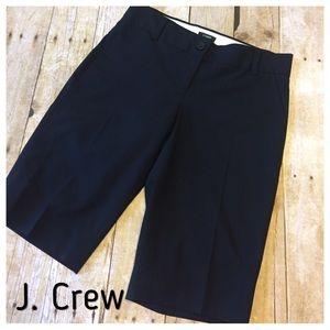 J. Crew City Fit Dressy Shorts Bermuda Style sz 0