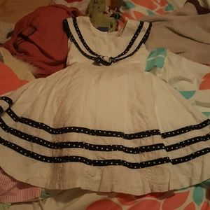 Rare Editions Other - rare editions 2t sailor dress