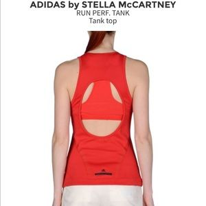 Adidas by Stella McCartney Tops - Stella McCartney Adidas Red Perf Tank Med NWT
