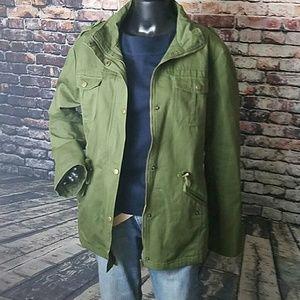 acevog Jackets & Blazers - Oversized Army Green Jacket