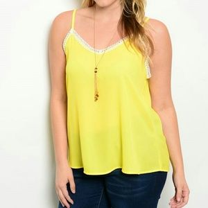 Tops - PLUS sunny cami blouse