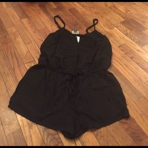 Old Navy Small Black Romper NWT