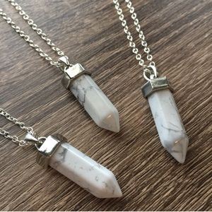 Simple Sanctuary Jewelry - Natural Howlite Necklace