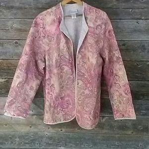 Catherines Jackets & Blazers - Catherines 26/28 Floral Spring Overlay Jacket