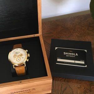 Shinola Accessories - Shinola Runwell Chronograph 43mm watch