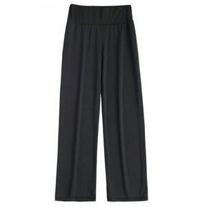 Pants - black wide-leg pant