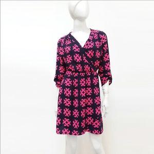 Auditions Dresses & Skirts - 🌸Beautiful Unique Print Surplice Flared Dress🌸