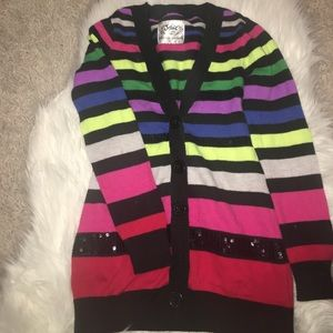 Justice Other - ⭐️🌟⚡️Sale Justice rainbow cardigan size 10
