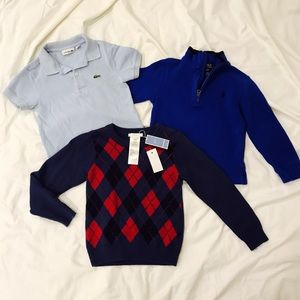 Jacadi Other - 👶🏻💙 Bundle- 3 Boy Sweaters Jacadi Lacoste