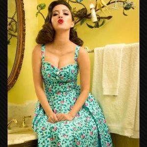 Nancy Dress In Blue