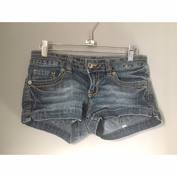 Pants - Denim Daisy Dukes Shorty Shorts Sz 1