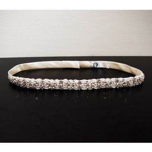 "Stella York Ivory Beaded Bridal Belt | 31"" Waist"