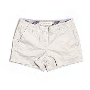 Tan like new J.Crew chino shorts