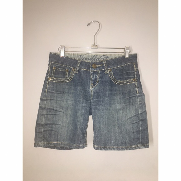 Shorts - Denim Bermuda Shorts Sz 3