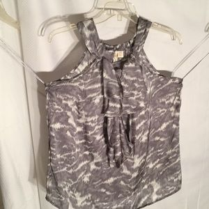 adiva Tops - Ladies grey and white tank top xl NWT