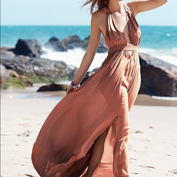 a975870f35 Free People Dresses   Skirts - Endless Summer Look Into The Sun Maxi Dress