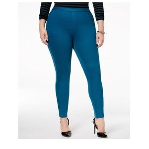 HUE Pants - NWT HUE Denim Leggings Sz XXL