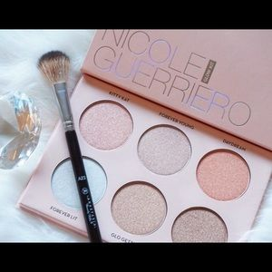 Anastasia Beverly Hills Other - 🎉💯Bundle ! LE Nicole G glow kit &  kabuki brush