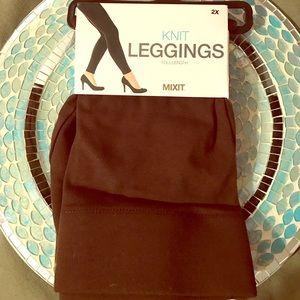 Pants - 💃🏼NWT Plus Size Brown Leggings 💃🏼
