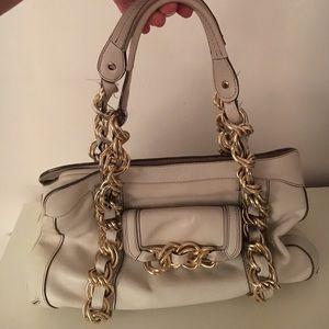Anya Hindmarch Handbags - Anya Hindmarch white leather handbag.