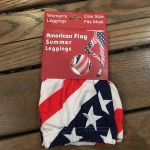 Pants - American Flag Leggings