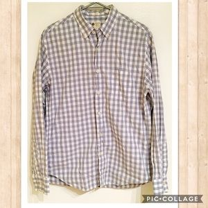 J. Crew Other - J. Crew Tailored Fit Men's Checkered Button Up