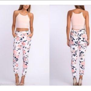 Zara women floral pants