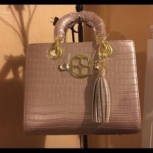 SALE IMAN Global Chic Croco-Embossed Handbag