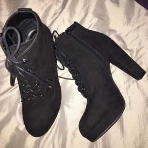 Charlotte Russe Shoes - BRAND NEW heeled booties