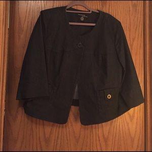 Larry Levine Jackets & Blazers - Denim Jacket 18 W like new