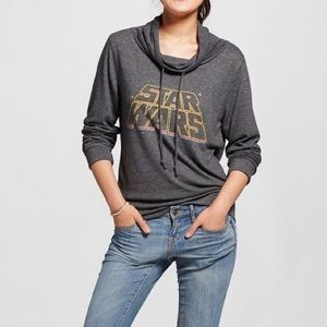 Fifth Sun Tops - Star Wars cowl neck sweatshirt