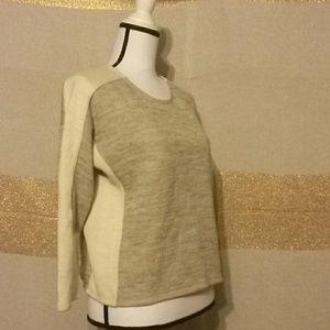 J. CREW Color block sweatshirt