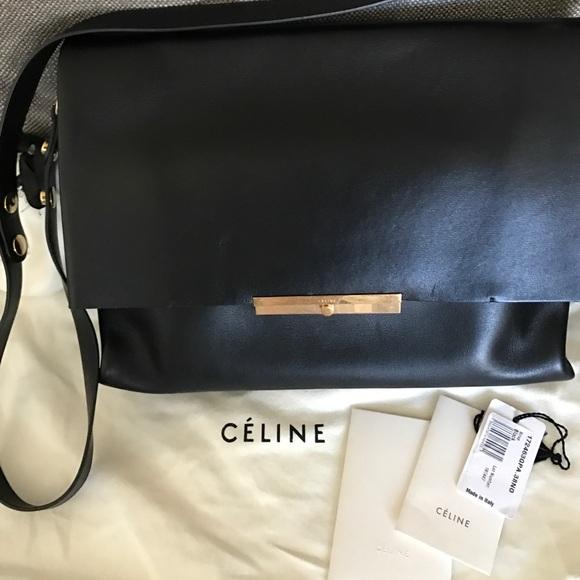 49e664b8a7 Celine Handbags - Authentic Celine  Blade  shoulder crossbody bag