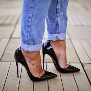 Christian Louboutin Shoes - LIKE NEW!! Christian louboutin size 38/7-7.5US