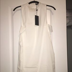 fashion union Dresses & Skirts - Brand new! White dress with cut out detail