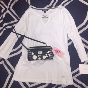 Ellen Tracy Tops - NWT White Shirt