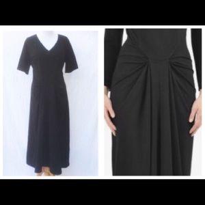 eshakti Dresses & Skirts - New Eshakti Black Vintage Style Midi Dress 24W