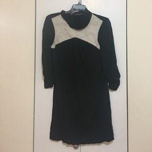 Twelfth Street by Cynthia Vincent Dresses & Skirts - Mini mock turtle neck shift dress
