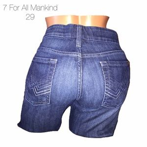 7 For AllMankind Ombré A Pocket Bootcut Jeans 29