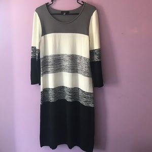 Spense Dresses & Skirts - SPENSE striped sweater dress