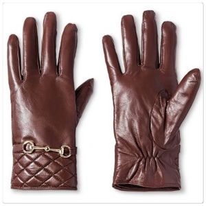 3M Thinsulate Accessories - New Women's Genuine Leather Tech Touch Glove