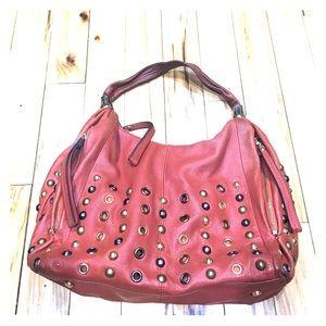 b. makowsky Handbags - B. Makowsky rust orange purse leather hobo cute