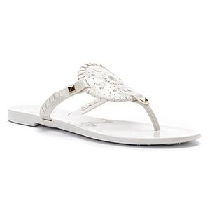 604c1b11416 Jack Rogers Shoes - NWT Jack Rogers white jelly sandals🐋