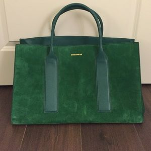 DSquared2 Suede Leather Tote- PRICE FIRM