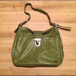 Perlina Handbags - Green Perlina Bag