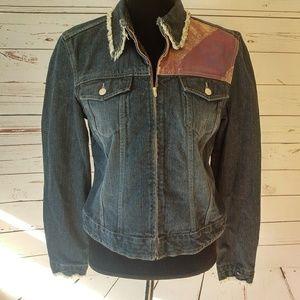 Tommy Hilfiger Jackets & Blazers - Tommy Hilfiger jean jacket American flag design