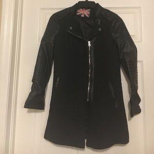 Miss London Black Coat